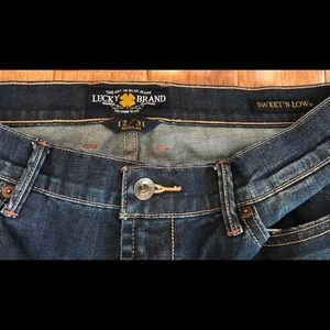 Lucky Brand women's SWEET'N LOW Jeans size 12/31 R